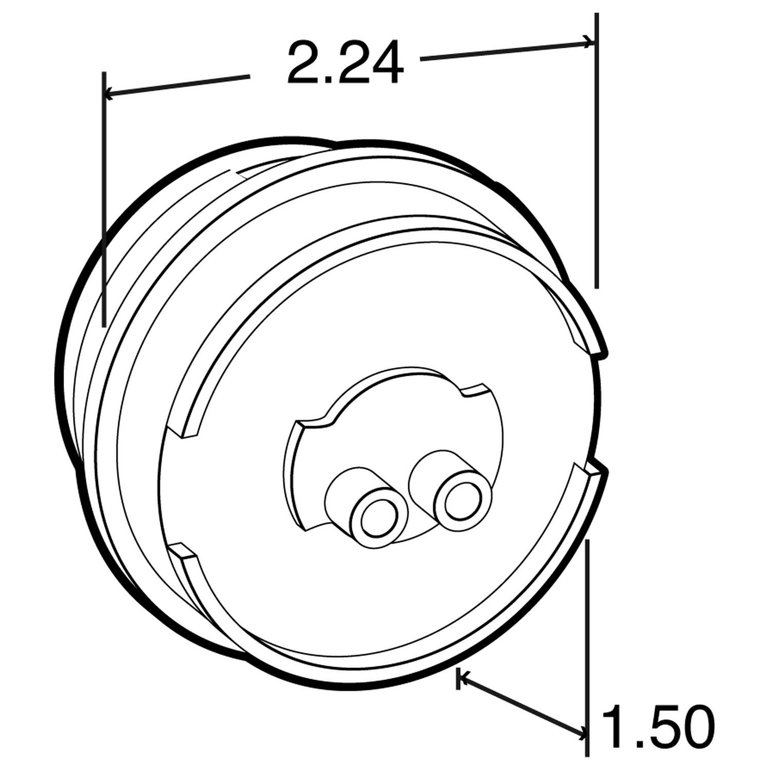 Lamp Led Abs 30264y