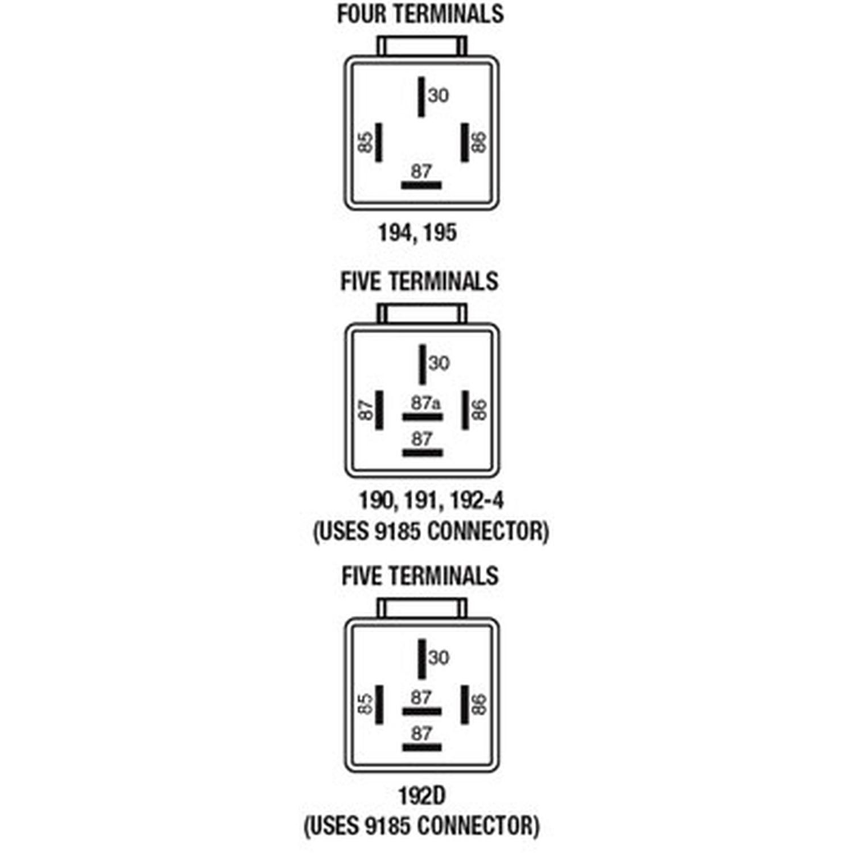 Relay Connector 9185